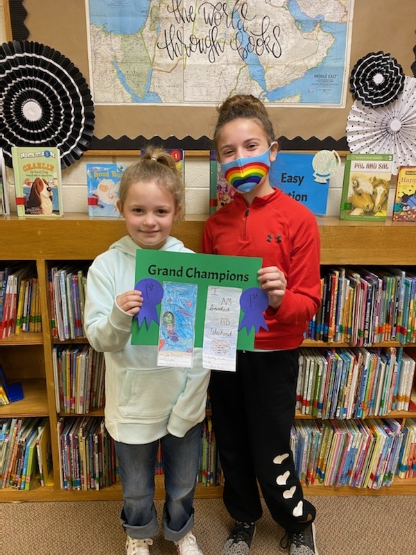 Elementary Bookmark Winners