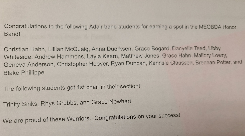 honor band